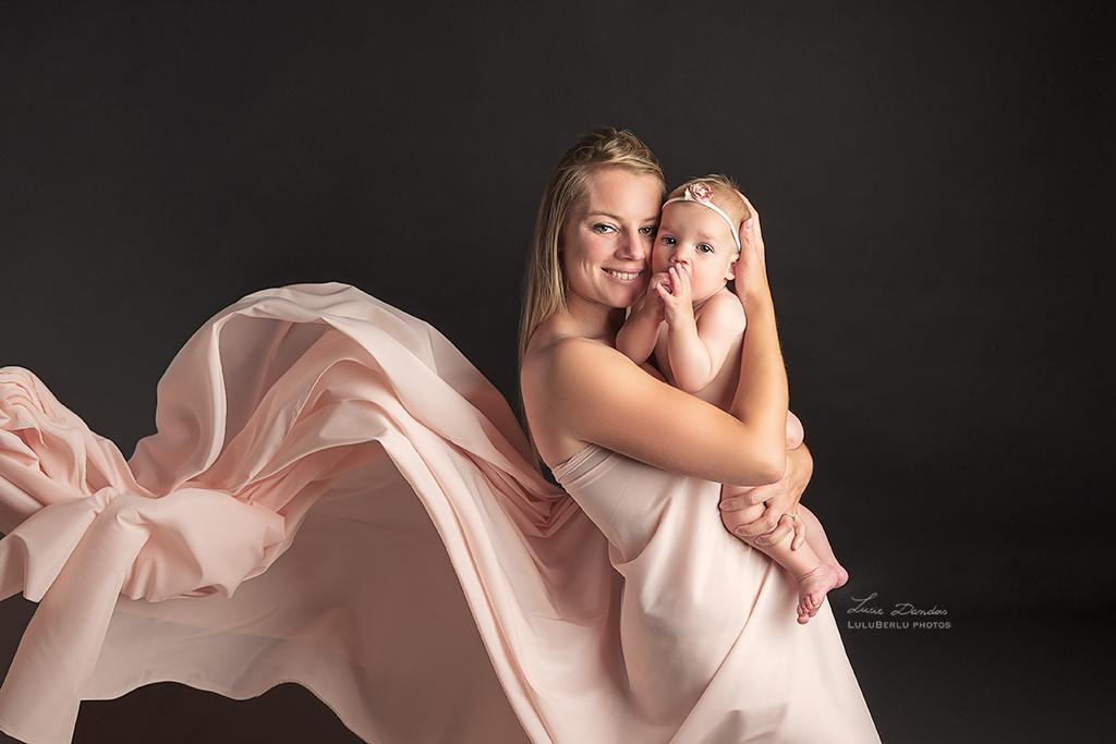 Séance photo maman et bébé