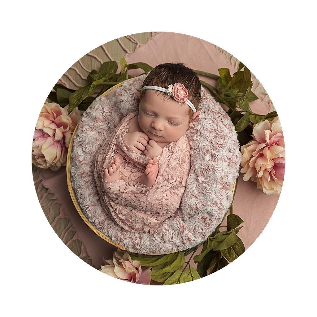Photographe spécialisée dans la photographie de nouveau-né
